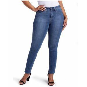 NYDJ Curves 360 Slim Straight Shape Jeans